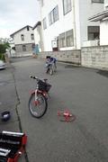 千早の自転車練習