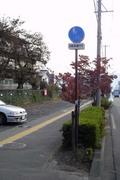 自転車通行可の歩道