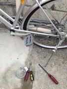 自転車の鍵の壊し方