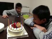 秋月、13歳の誕生日