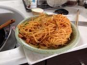 スパゲティナポリタン・カリオストロ風