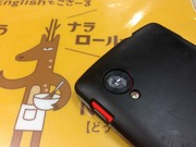 Nexus5レンズカバー破損!