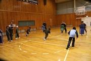 体育館練習