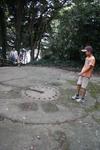 猿島8cm単装高角砲砲座跡